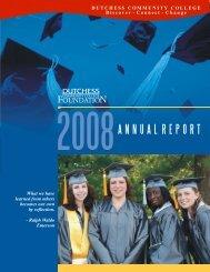 2008ANNUAL REPORT - Dutchess Community College