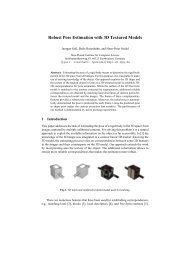 Robust Pose Estimation with 3D Textured Models - Max Planck ...