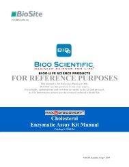 FOR REFERENCE PURPOSES - Nordic Biosite