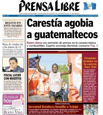 FISCAL LUCRÓ CON MUERTES - Prensa Libre
