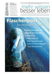 Leseprobe 2006 - Kent Depesche / mehr wissen - besser leben