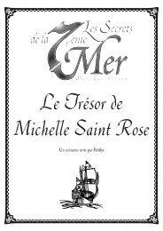 Le Trésor de Michelle Saint Rose - JdRP