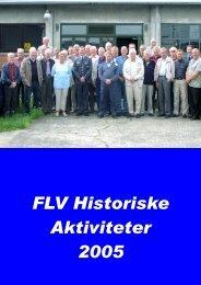 Aarsskrift 2005.pub - Flyvevåbnets Historiske Samling