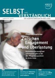 Selbsthilfemagazin 01/2011 - Kreis Unna
