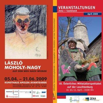 Veranstaltungen Jena + Saaleland April 2009 - MAGAZIN JENA + ...