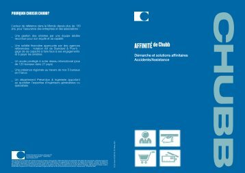 AFFINITÉ - Chubb Group of Insurance Companies