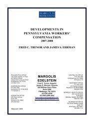 Compensation Newsletter May/June 2008 - Margolis Edelstein