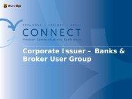 Corporate Issuer Bank & Broker User Forum with USPS - Broadridge