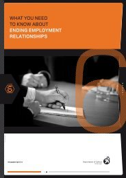 what you need to know about ending employment relationships