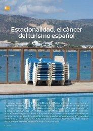 Estacionalidad, el cáncer del turismo español - Hosteltur.com