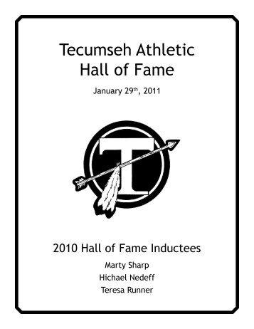 2010 Inductees Bios - Tecumseh Local Schools