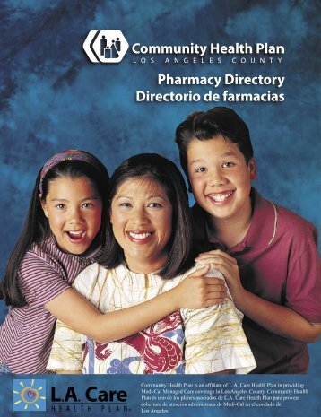 Pharmacy Directory Directorio de farmacias - Los Angeles County ...