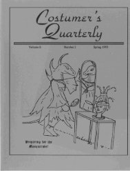 Vol 6 No 2 - International Costumers' Guild, Inc.