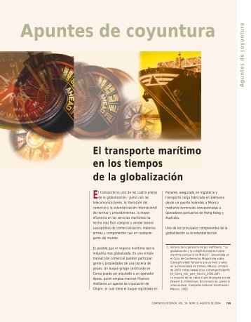 Transporte Marítimo - revista de comercio exterior