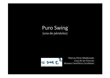 Marcos Pérez_Puro Swing