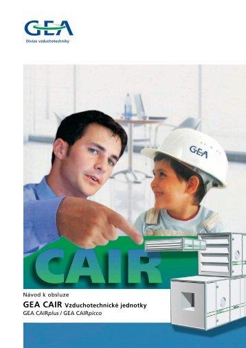 GEA CAIR Vzduchotechnické jednotky - O2
