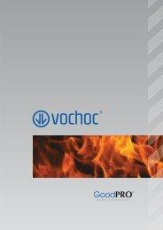 Ochranné prostředky proti tepelným rizikům - VOCHOC