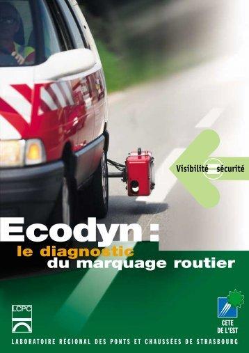 le diagnostic du marquage routier - Le CETE de l'Est