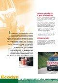 le diagnostic du marquage routier - Le CETE de l'Est - Page 2