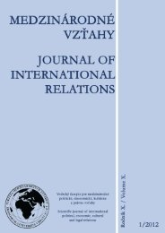 1 - Fakulta medzinárodných vzťahov - Ekonomická univerzita v ...