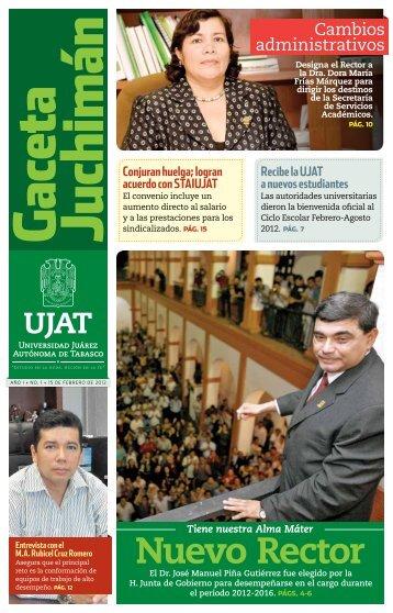 15 de Febrero del 2012 - Año I Numero 1 - Publicaciones ...