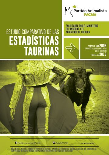 Estudio_Estadísticas_taurinas_2003-2013