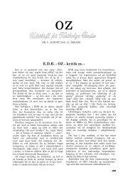 E.D.R. - OZ - kritik m. Y.
