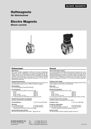 Electro Magnets