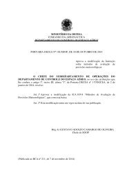 ministério da defesa comando da aeronáutica - Redemet