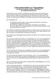 Informationsblatt zur Tagespflege - Bad Oeynhausen
