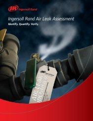Air Leak Assessment Brochure - Ingersoll Rand