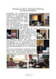 Fachtagung - Weißeritzgymnasium