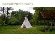 Präsentation - Informationen für Sponsoren - Naturkindergarten ...