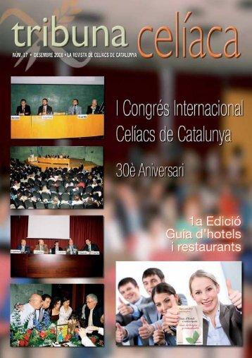 tribuna celíaca - Celíacs de Catalunya
