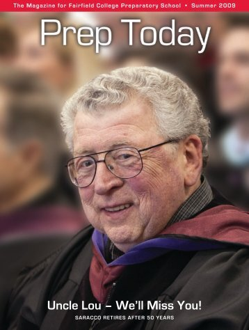 Uncle Lou – We'll Miss You! - Fairfield College Preparatory School