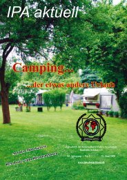 Camping... - International Police Association