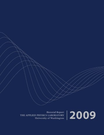 2009 Biennial (PDF, 12 MB) - Applied Physics Laboratory-University ...