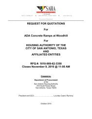 REQUEST FOR QUOTATIONS For ADA Concrete Ramps at ...