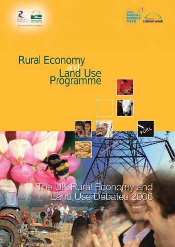The UK Rural Economy and Land Use Debates - Relu Knowledge ...