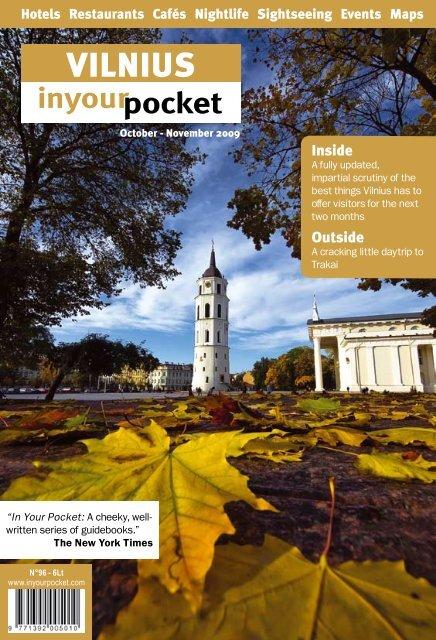 IYP Vilnius Oct/Nov 2009 - In Your Pocket GmbH