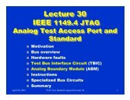 Lecture 30 Lecture 30 - CS Course Webpages