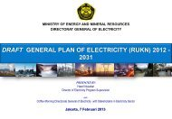 DRAFT GENERAL PLAN OF ELECTRICITY (RUKN) 2012 - 2031