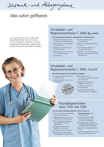 Schubladen- und Registraturschränke
