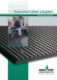 Ergonomisch stehen und gehen - Stuck Transportgeräte GmbH