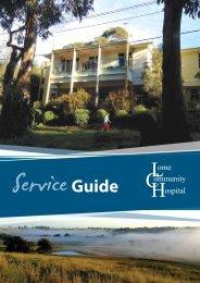 Service Guide 2012