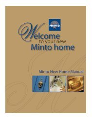 To Your New Minto Home
