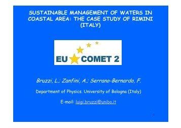 Bruzzi, L.; Zanfini, A.; Serrano-Bernardo, F. - About Project