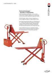Scherenhubwagen - Qualität in Arbeitshöhe LOGITRANS HL / EHL