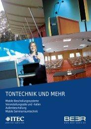 TONTECHNIK UND MEHR - Itec