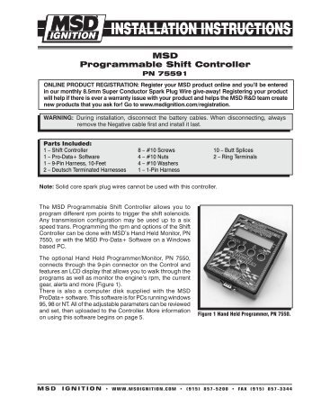msd programmable shift controller msd pro magcom?quality=85 installation instructions  at bayanpartner.co
